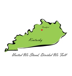 State kentucky vector