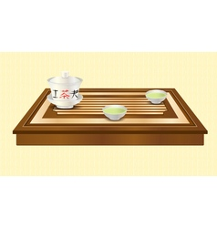 tea ceremony vector image