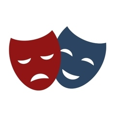 Theater masks vector