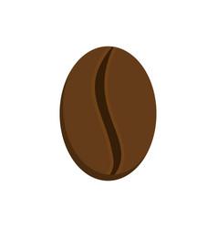 grain coffee isolated raw grains of coffee tree vector image