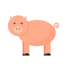 Pigs cartoon character vector image