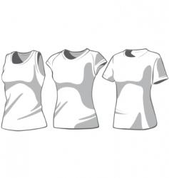 shirt7 vector image vector image