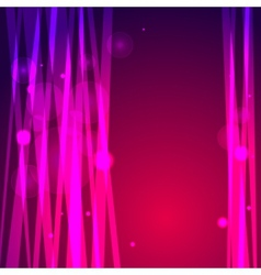 Abstract pink background with lines and bokeh vector