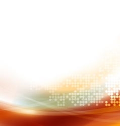 Abstract smooth flow background for technology vector