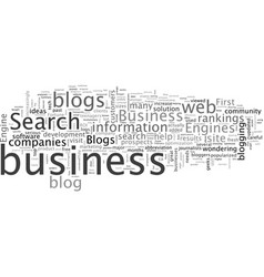 Business blogs to help your rankings vector