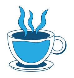 coffee drinks design vector image