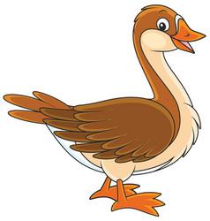 goose vector image