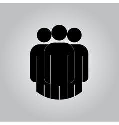 Group of people sign icon Share symbol UI vector