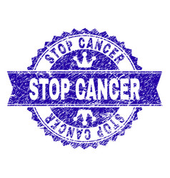 Distressed Cancer Ribbon Vector Images 16