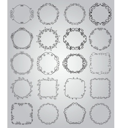 Hand Drawn Doodle Borders and Frames vector