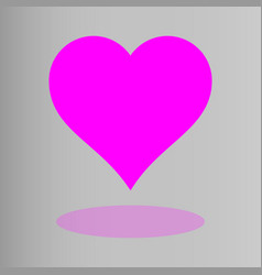 Heart icons concept love linear icons vector