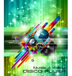 Music international disco vector