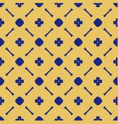 simple floral texture vintage geometric pattern vector image