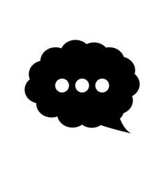 Speech cloud design vector