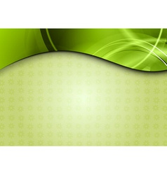 spring background in the green color vector image