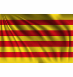 Waving spain aragona vector