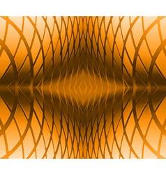 Gold ornate background vector image
