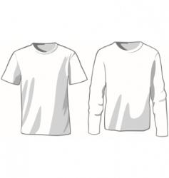 mans wear vector image vector image