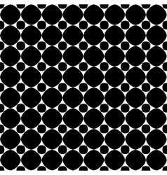 Polka dot geometric seamless pattern 608 vector image vector image