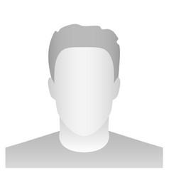 creative of default avatar vector image