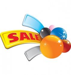 sale stylized arrow vector image