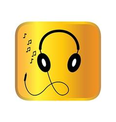 headphone vector image vector image