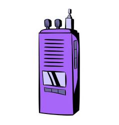 Radio icon cartoon vector