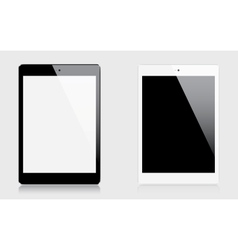 Realistic tablets vector