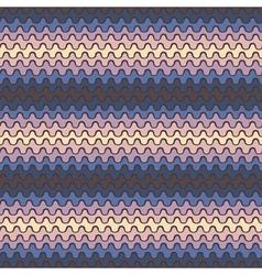 Wavy stripes vector image vector image