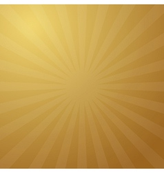 Abstract Retro Golden Background vector image