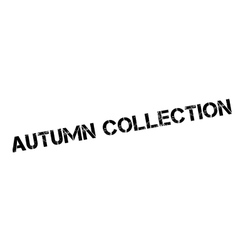 Autumn Collection rubber stamp vector