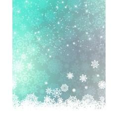 Blue Christmas Background EPS 8 vector