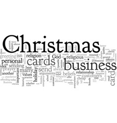 business christmas cards vector image