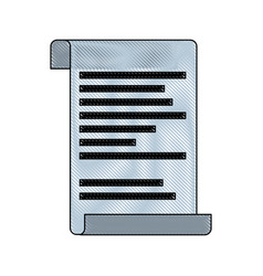 document paper message note office element vector image