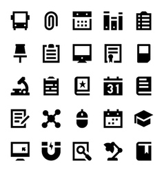 Education and School Icons 2 vector