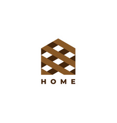 house logo design symbol template vector image
