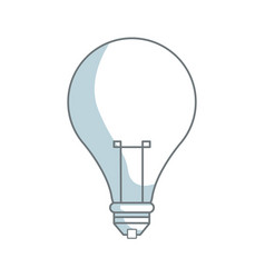 Light bulb creativity idea innovation icon vector