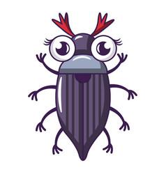 May bug icon cartoon style vector