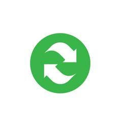 refresh icon graphic design template vector image