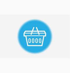 shopping basket icon sign symbol vector image