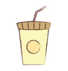 soda cup design vector image