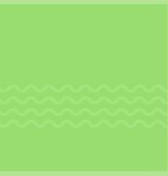 wavy lines mint green vector image