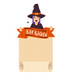 witch craft poster vector image