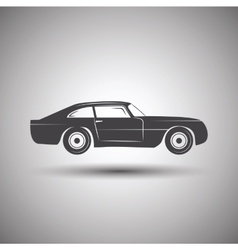Car logo design Transport vector image