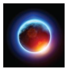 Planet Eclipse vector image