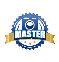 Logo master plus vector
