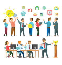 People increase motivation ideas emergence vector
