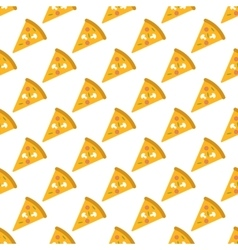 Pizza pattern seamless vector