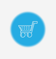 shopping cart icon sign symbol vector image