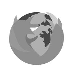 Firefox vector image vector image
